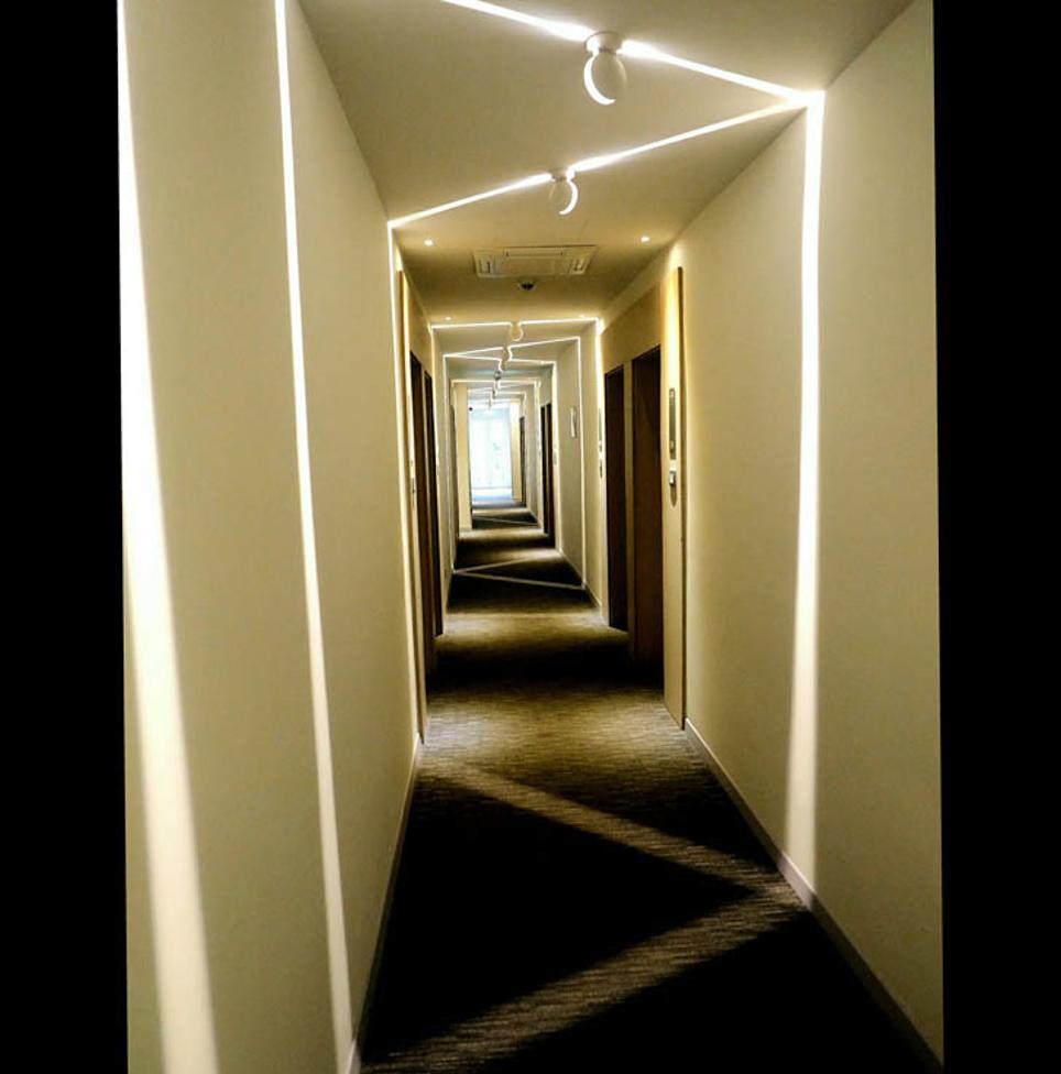 Ljuskorridor. Foto: Dick Olssén.