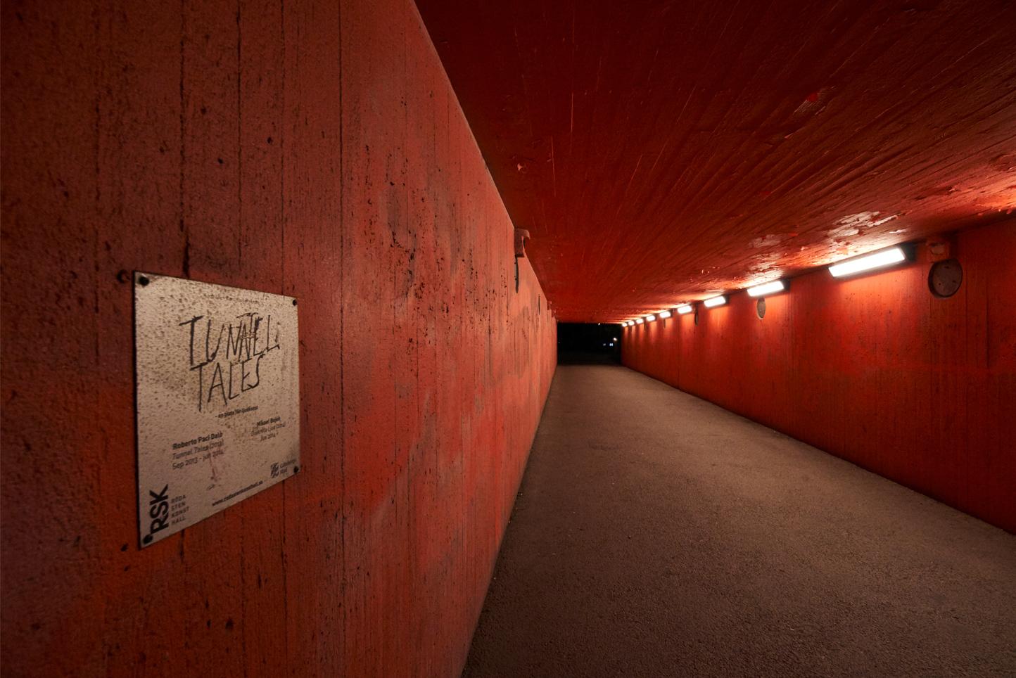 Foto: Leif Ljungquist. Tunnel.