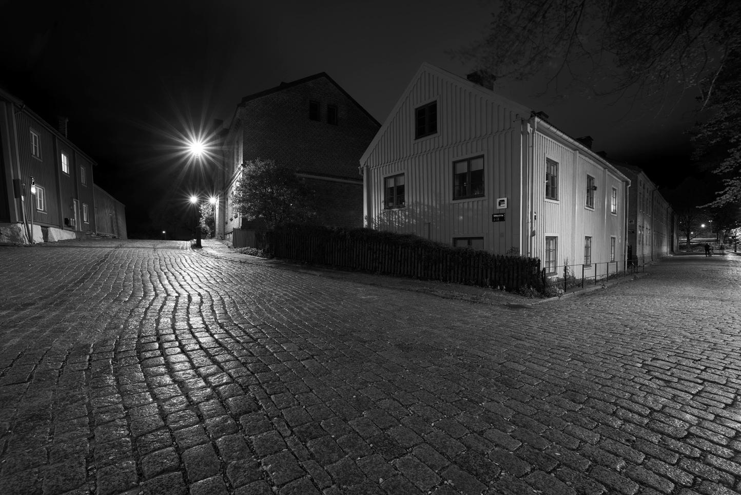 Foto: Leif Ljungquist. Kväll i Klippan.